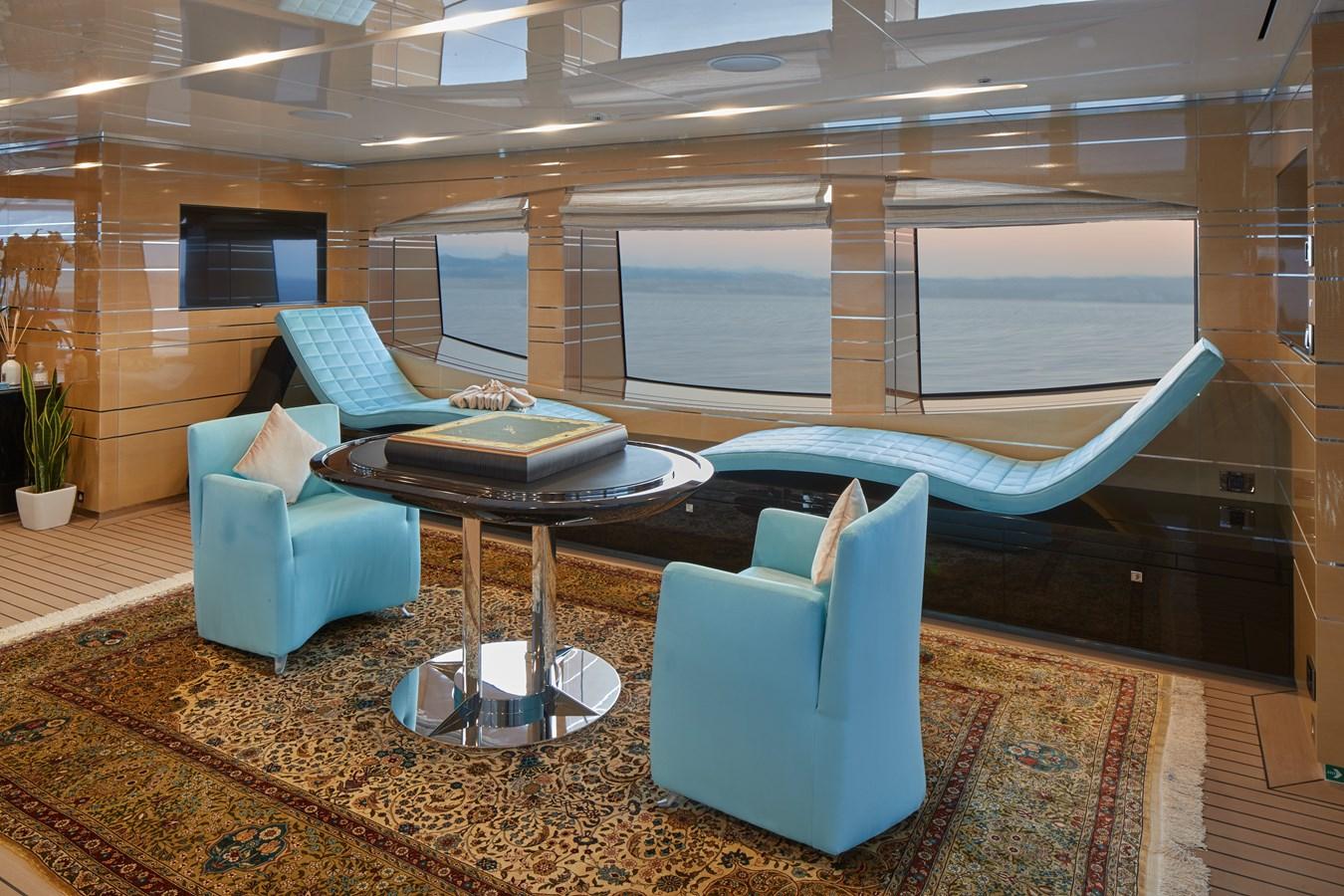 Sun deck salon port 2015 SUNRISE  Mega Yacht 2968925