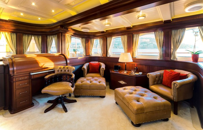 Owner's Saloon - Owner's Suite Deck Level 2013 BALK SHIPYARD Three Mast Schooner Motorsailor 2680605