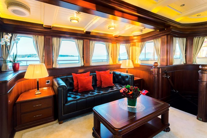 Owner's Saloon - Owner's Suite Deck Level 2013 BALK SHIPYARD Three Mast Schooner Motorsailor 2680606