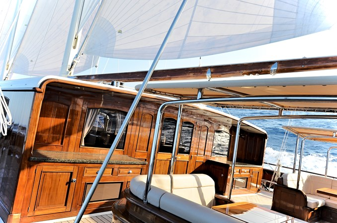 Large seating and serving stations 2013 BALK SHIPYARD Three Mast Schooner Motorsailor 2680630