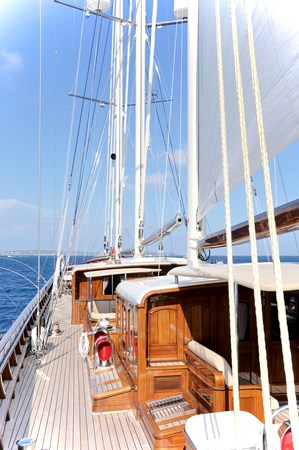 Port Side Deck and Seating 2013 BALK SHIPYARD Three Mast Schooner Motorsailor 2680633