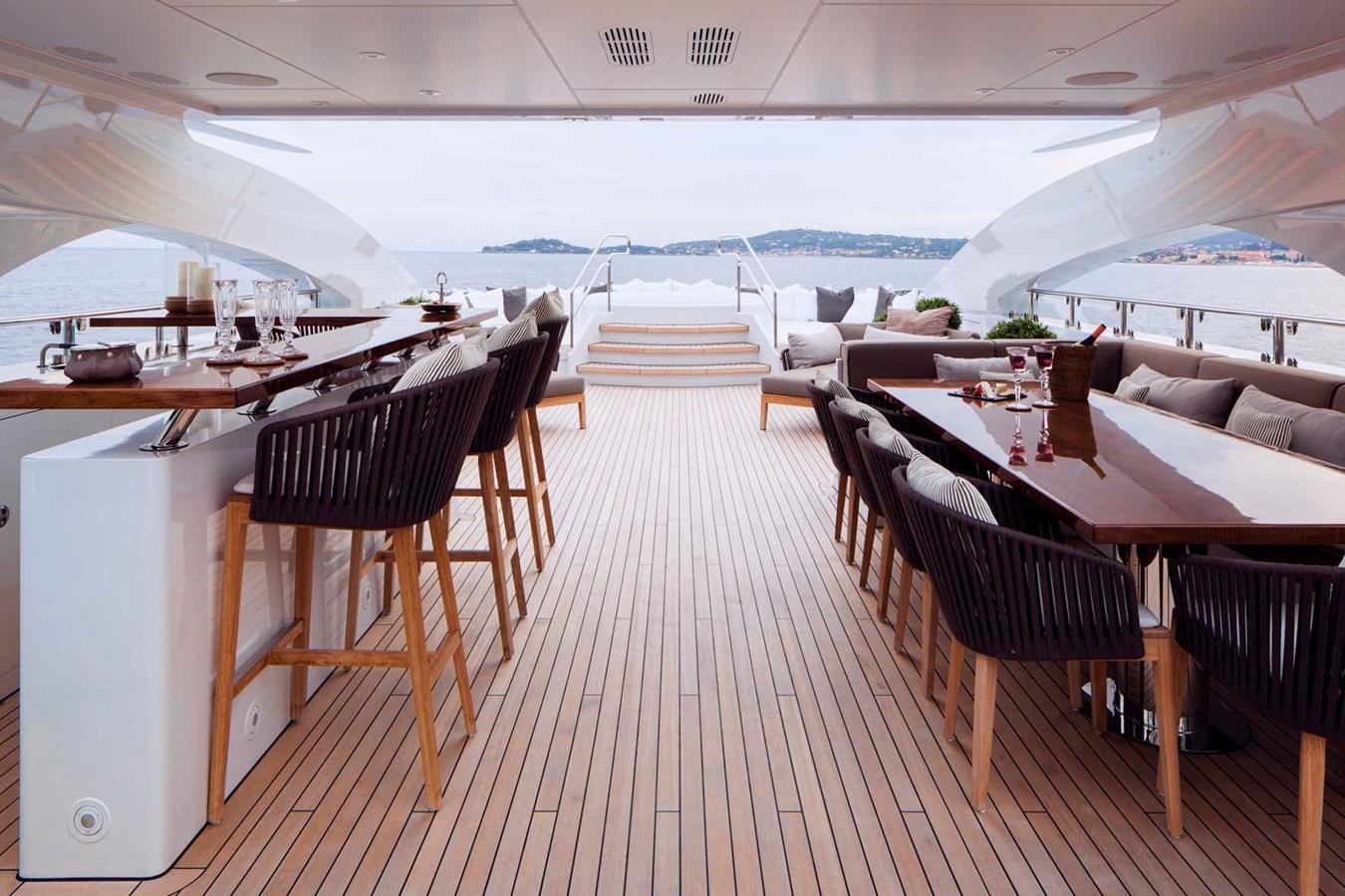 HAYKEN Sundeck Dining 2014 HEESEN YACHTS 5000 Aluminium  Motor Yacht 2691217