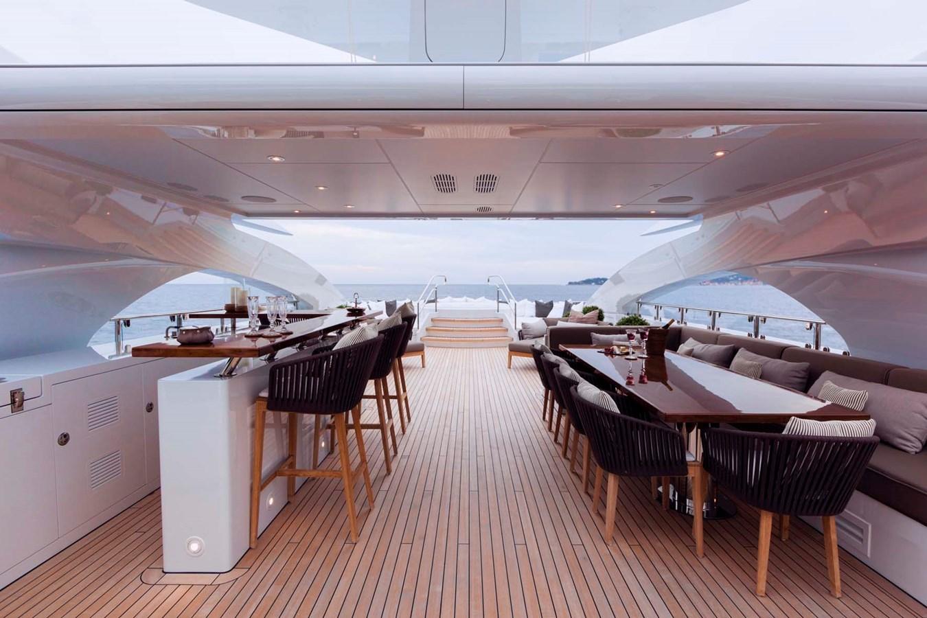 HAYKEN Sundeck Dining2 2014 HEESEN YACHTS 5000 Aluminium  Motor Yacht 2691218