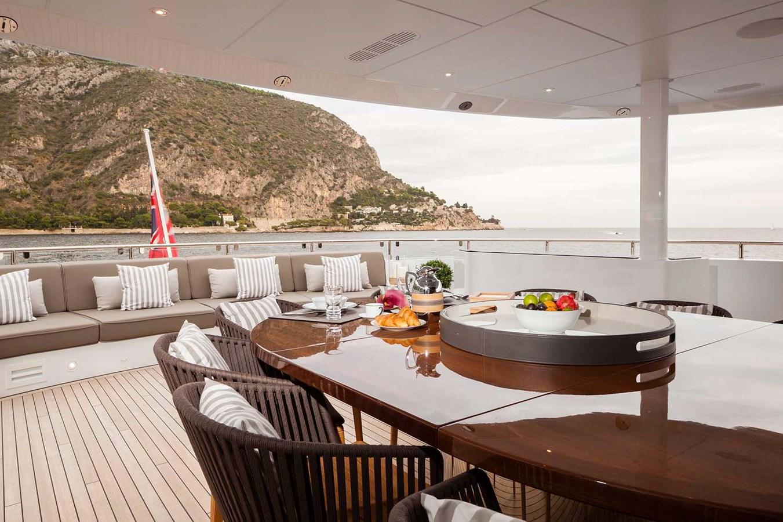 HAYKEN Exterior Dining 2014 HEESEN YACHTS 5000 Aluminium  Motor Yacht 2691264