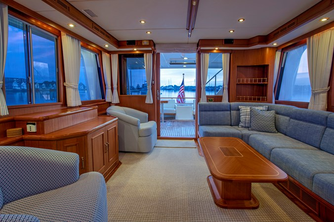 Main Salon 2 2006 GRAND BANKS 59 Aleutian RP Motor Yacht 2690079