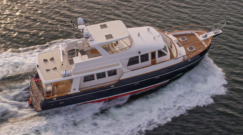 overhead 2006 GRAND BANKS 59 Aleutian RP Motor Yacht 2737349