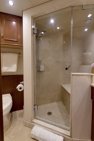 Guest Bath - Fwd. 2010 PLATINUM/BLUEWATER YACHT BLDRS  Motor Yacht 2693726