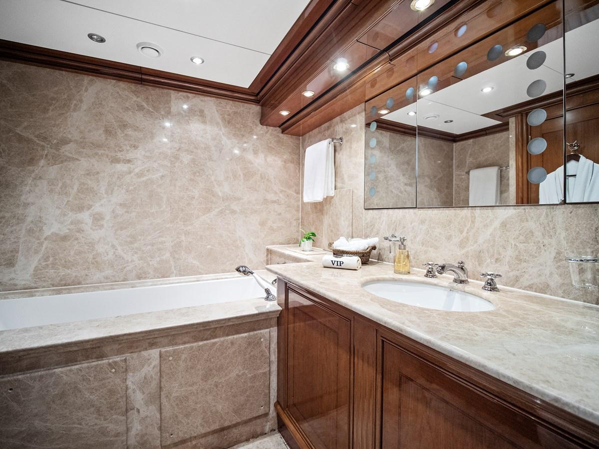 2nd master bath 2009 AEGEAN YACHTS  Motorsailor 2767914