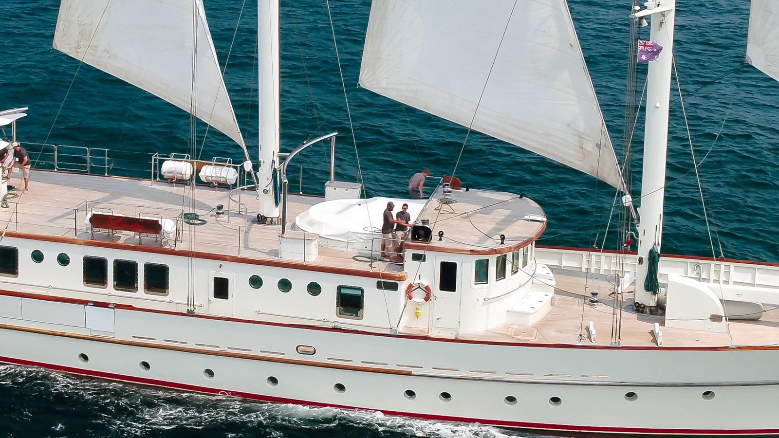 Sailing close up 2009 AEGEAN YACHTS  Motorsailor 2814100