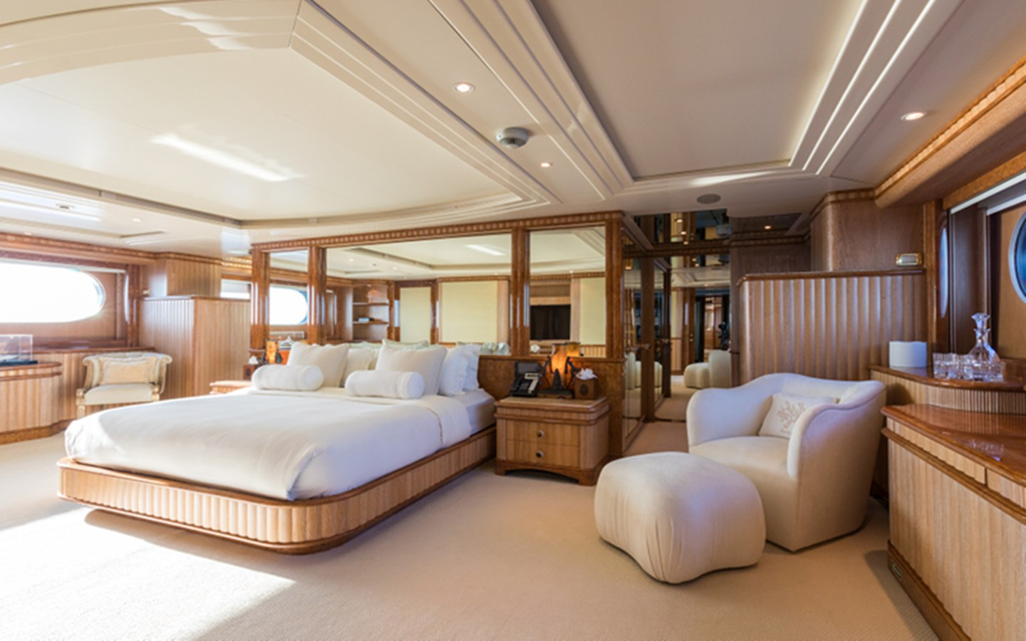 Master Stateroom - 164 BENETTI For Sale