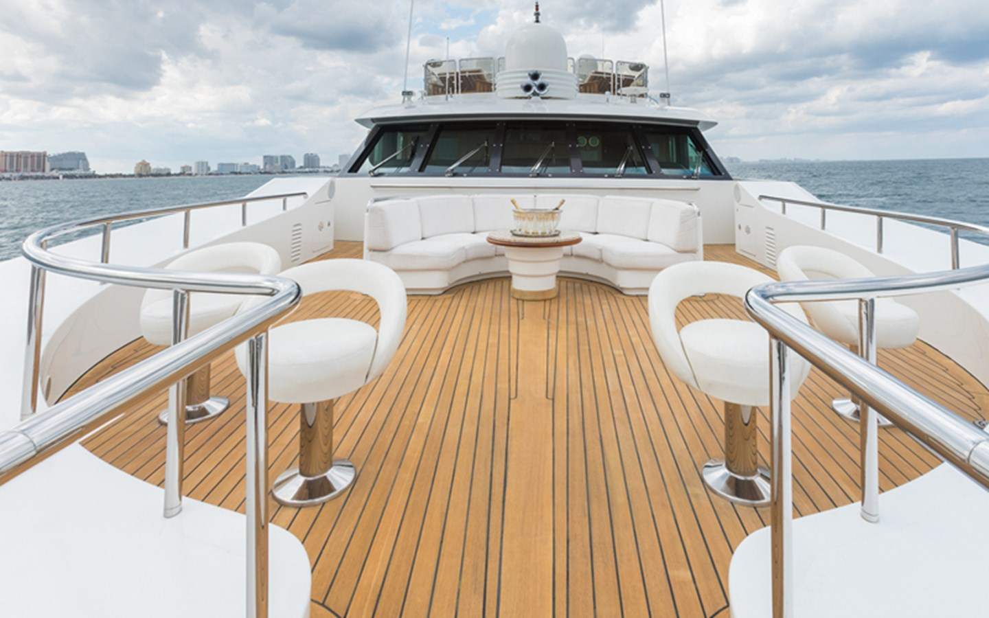 Foredeck - 164 BENETTI For Sale