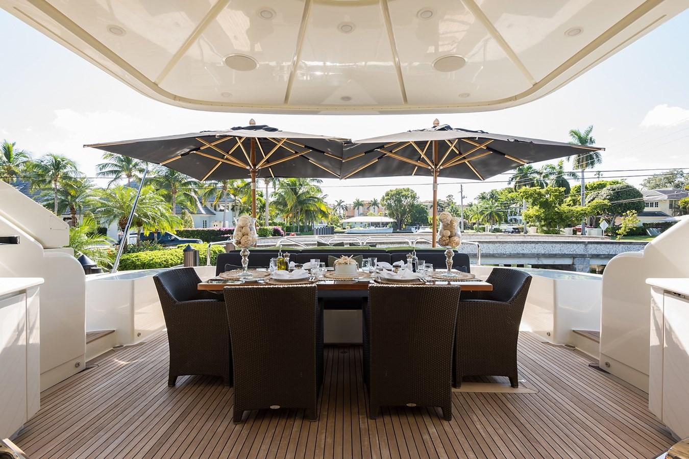 Aft Deck 2008 LEOPARD Motor Yacht Motor Yacht 2698925