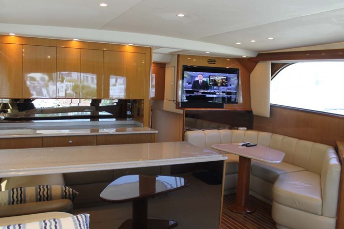 Dinette and Galley 2002 VIKING 52 Convertible Sport Fisherman 2698663