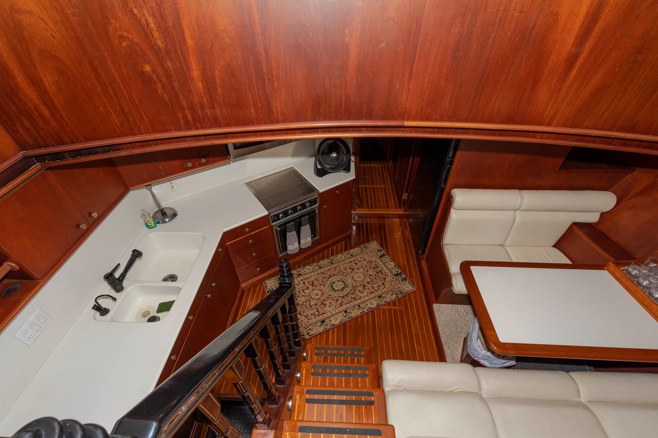 Galley and Dinette 1961 BURGER  Motor Yacht 2704951