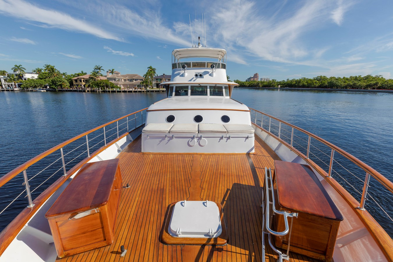 Bow view Aft 1961 BURGER  Motor Yacht 2704959