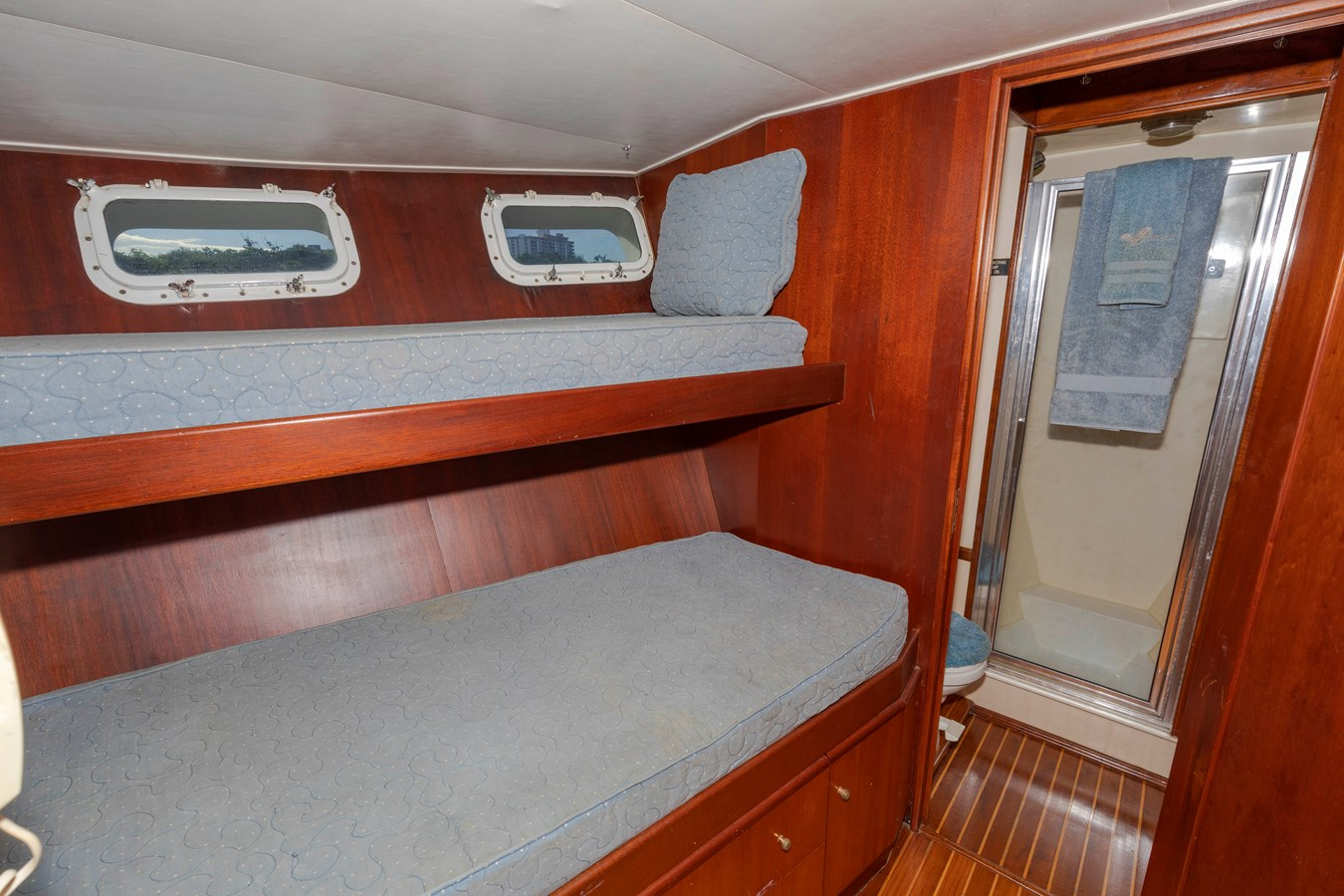 Crew Stateroom with Head 1961 BURGER  Motor Yacht 2704968
