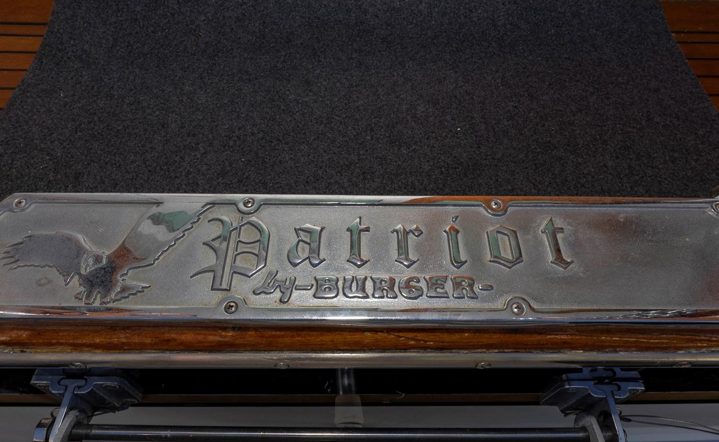 Name Plate 1961 BURGER  Motor Yacht 2704976