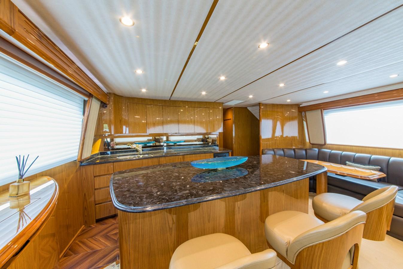 Galley 2012 VIKING Enclosed Bridge Sport Fisherman 2706756