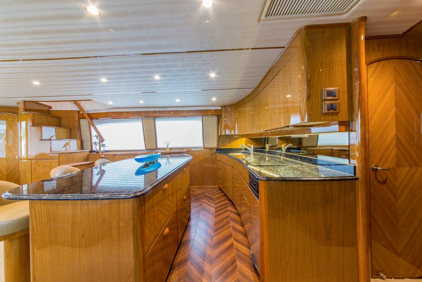 Galley 2012 VIKING Enclosed Bridge Sport Fisherman 2706758
