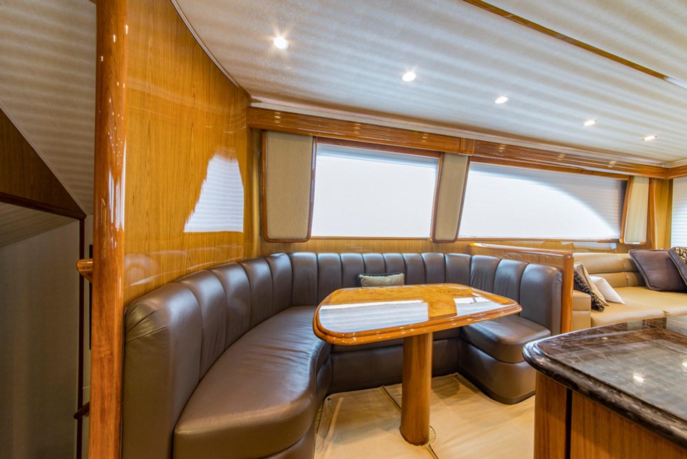 Dinette 2012 VIKING Enclosed Bridge Sport Fisherman 2706767