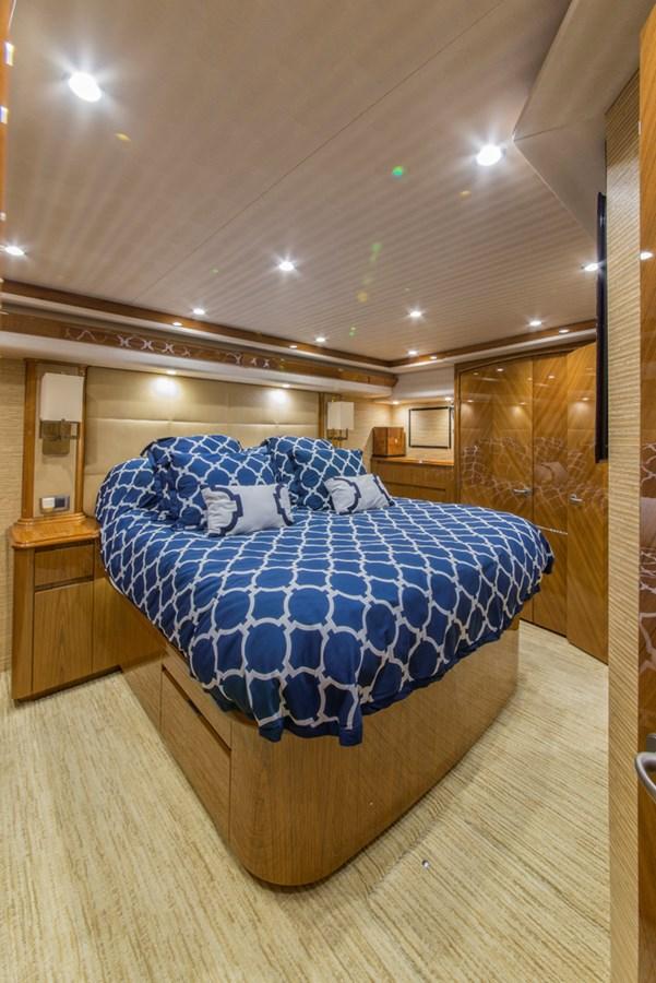 Master Stateroom 2012 VIKING Enclosed Bridge Sport Fisherman 2706779