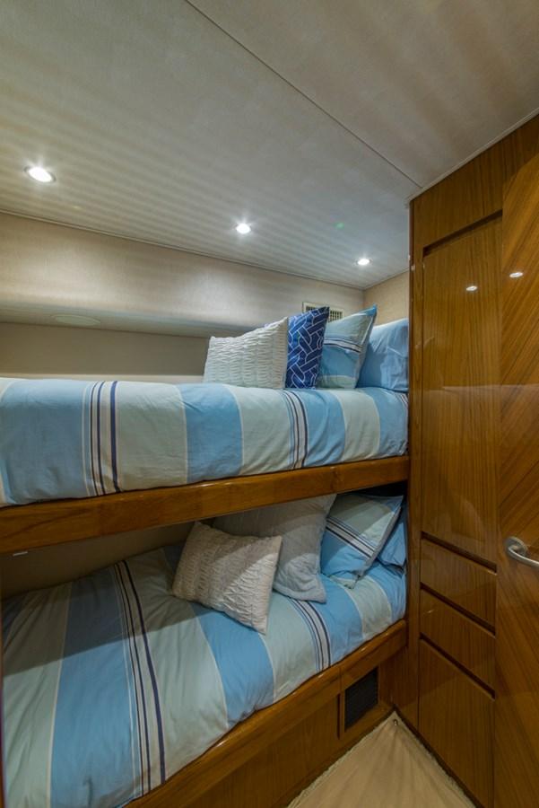 Port Guest Stateroom 2012 VIKING Enclosed Bridge Sport Fisherman 2706804