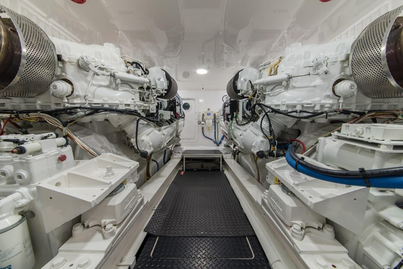 Engine Room 2012 VIKING Enclosed Bridge Sport Fisherman 2706850