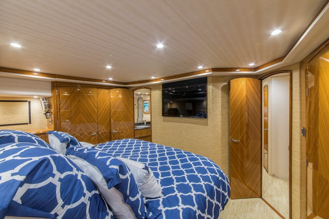 Master Stateroom 2012 VIKING Enclosed Bridge Sport Fisherman 2706781