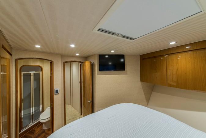 Forward Stateroom 2012 VIKING Enclosed Bridge Sport Fisherman 2706799
