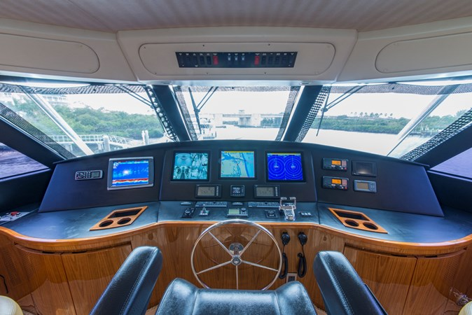 Enclosed Flybridge 2012 VIKING Enclosed Bridge Sport Fisherman 2706813