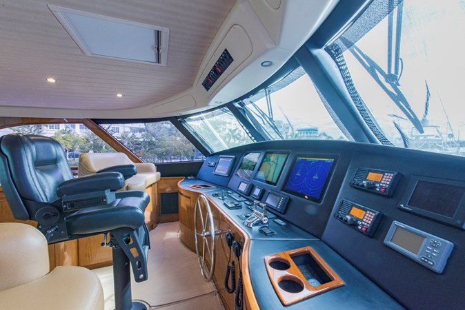 Enclosed Flybridge 2012 VIKING Enclosed Bridge Sport Fisherman 2706816