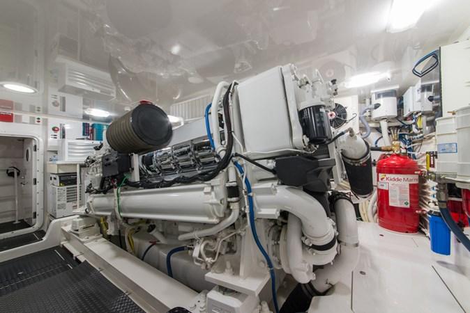 Engine Room 2012 VIKING Enclosed Bridge Sport Fisherman 2706855