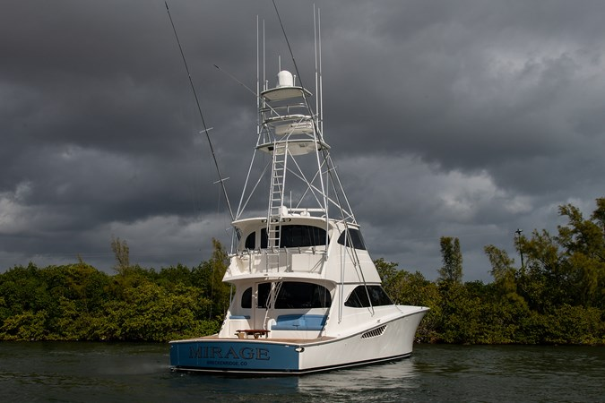 MIRAGE 2012 VIKING Enclosed Bridge Sport Fisherman 2706865