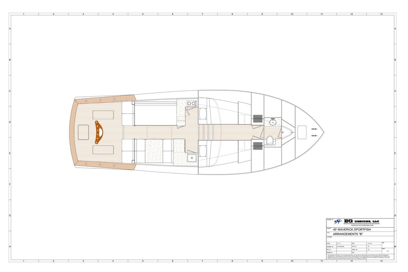 2020 MAVERICK YACHTS OF COSTA RICA Flybridge Sport Fisherman 2715520