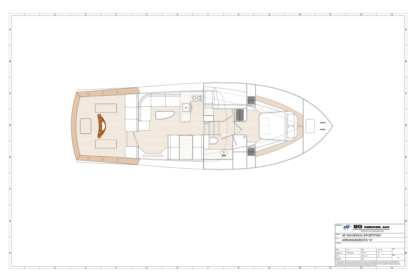 2020 MAVERICK YACHTS OF COSTA RICA Flybridge Sport Fisherman 2715521