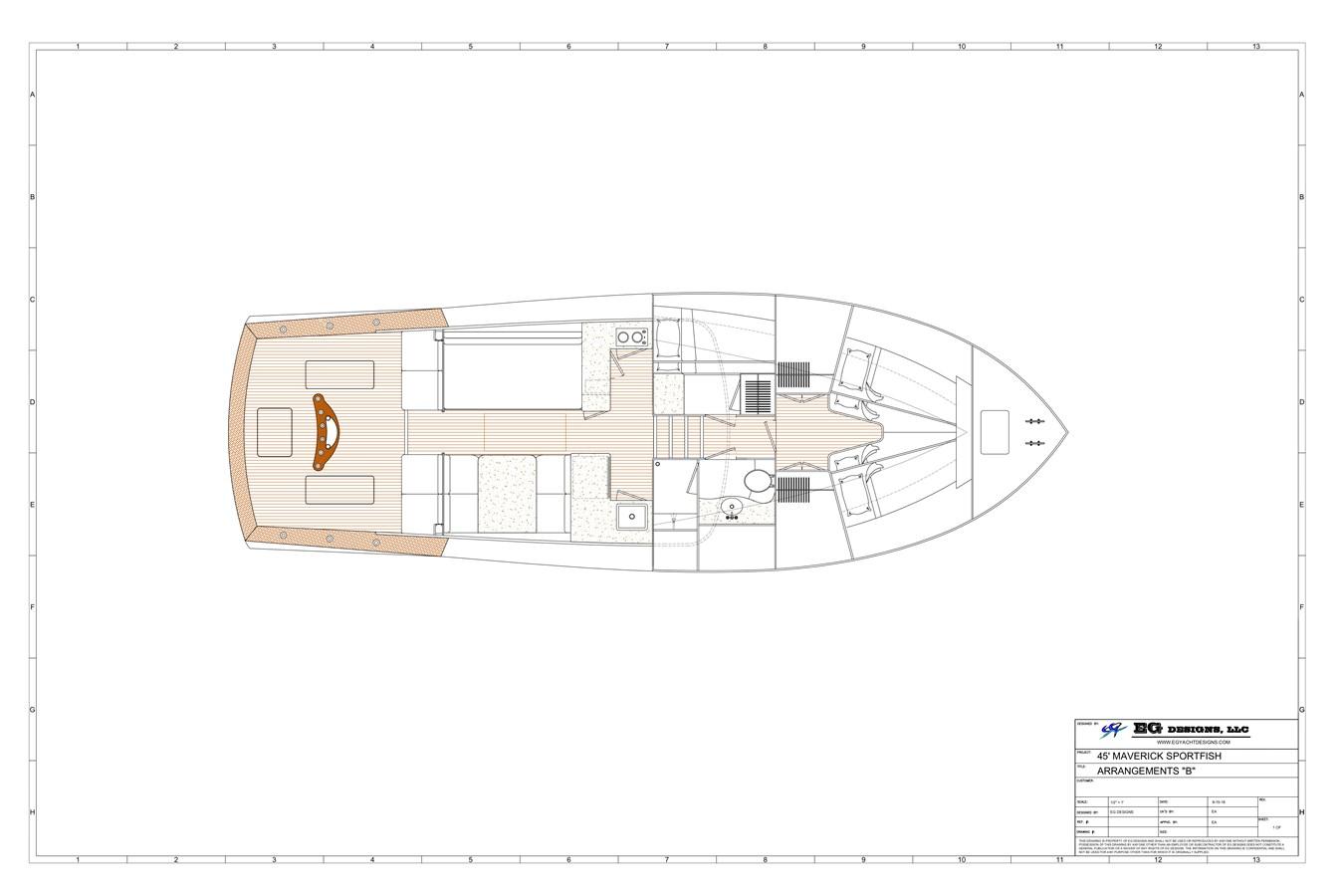 2020 MAVERICK YACHTS OF COSTA RICA Flybridge Sport Fisherman 2715522