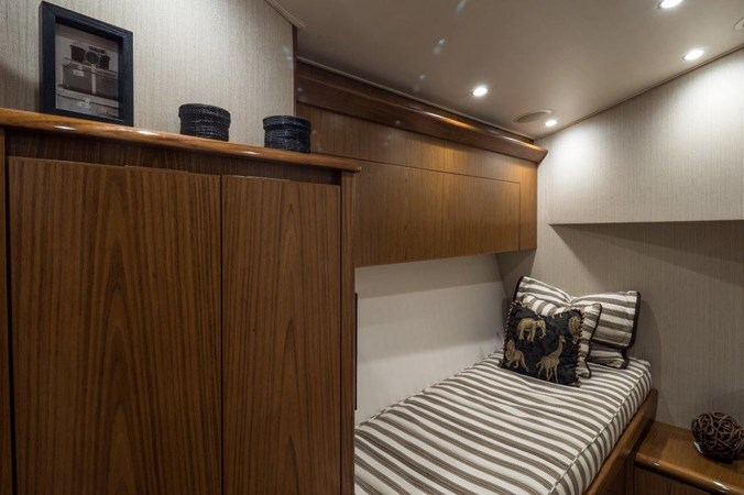 Aft Starboard Guest Stateroom 2015 VIKING Enclosed Bridge Sport Fisherman 2707199