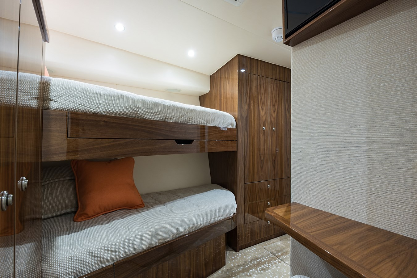 Mid Starboard Guest Stateroom 2019 VIKING Enclosed Sport Fisherman 2707631