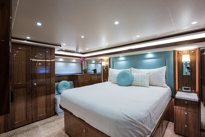 Master Stateroom 2019 VIKING Enclosed Sport Fisherman 2707611