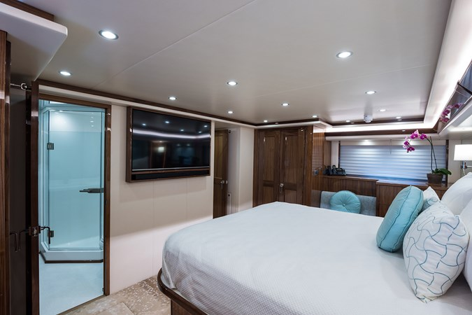 Master Stateroom 2019 VIKING Enclosed Sport Fisherman 2707612