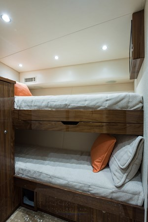 Forward Starboard Stateroom 2019 VIKING Enclosed Sport Fisherman 2707625
