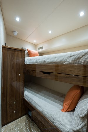 Forward Starboard Stateroom 2019 VIKING Enclosed Sport Fisherman 2707626