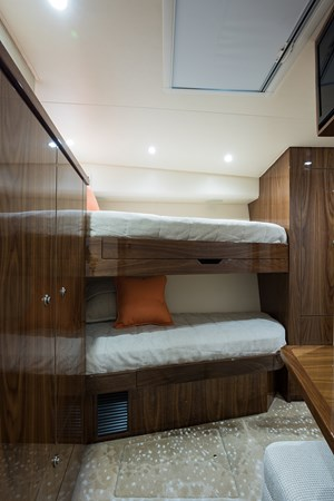 Mid Starboard Guest Stateroom 2019 VIKING Enclosed Sport Fisherman 2707629
