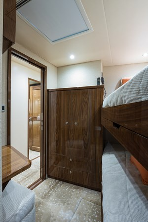 Mid Starboard Guest Stateroom 2019 VIKING Enclosed Sport Fisherman 2707633