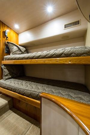 Crew Quarters/Additional Guest Suite 2013 VIKING Enclosed Bridge Sport Fisherman 2707786