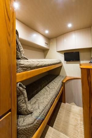 Crew Quarters/Additional Guest Suite 2013 VIKING Enclosed Bridge Sport Fisherman 2707787