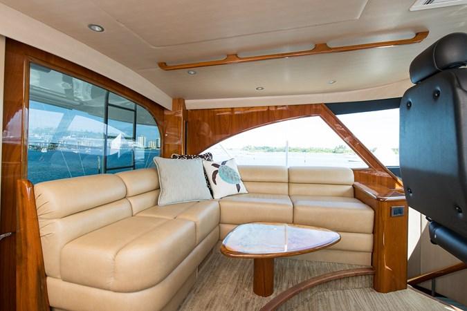 Enclosed Flybridge Seating 2013 VIKING Enclosed Bridge Sport Fisherman 2707789