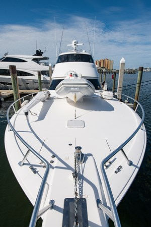 ST. JUDITH IV - Bow 2013 VIKING Enclosed Bridge Sport Fisherman 2707806