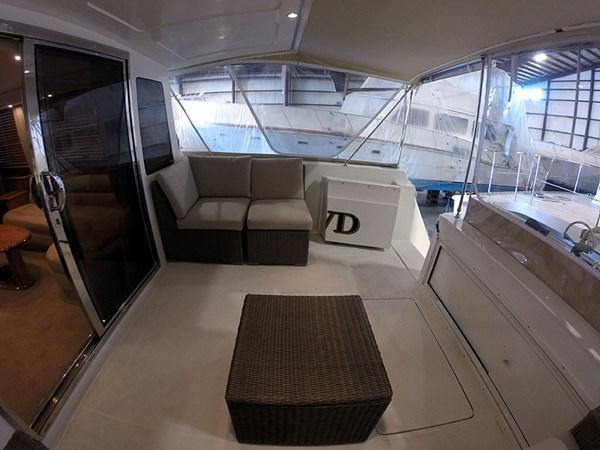 09CockpitSTBDWide 2004 NAVIGATOR 5700 Rival Pilothouse Motor Yacht 2708988
