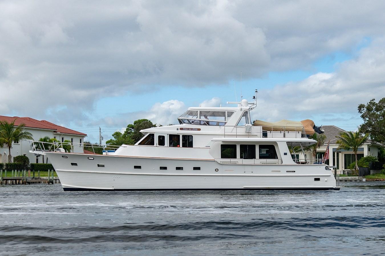 Tout Va Bien_Port Profile1 2005 GRAND BANKS 64 Aleutian RP Motor Yacht 2726093